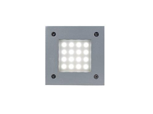 Plafon metalico led cuadrado 120X120