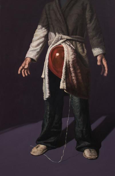 Be_Formed | óleo sobre tela 135x85 cm 2016
