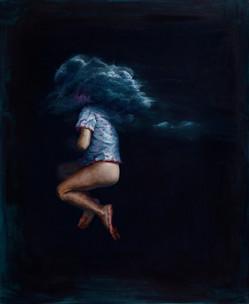 La espesura del silencio | óleo sobre tela 112x92cm 2017