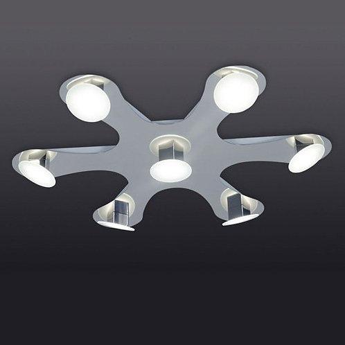 Plafon de 7 luces Led