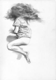 La espesura del silencio | lápiz sobre papel 29,5 x 21 cm 2017