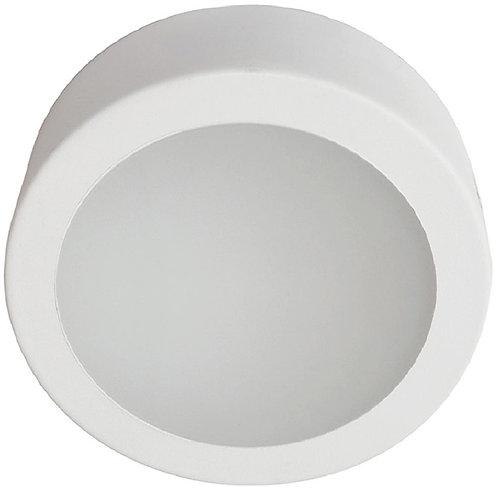 plafon redondo de vidrio 320x320mm