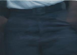 Cintura   óleo sobre tela 35x50cm 2013
