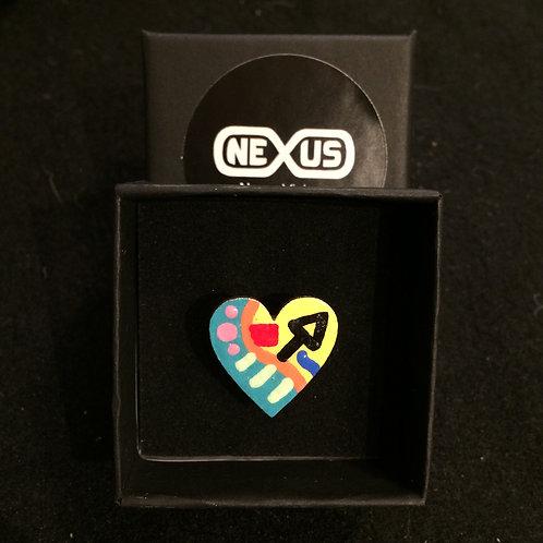 "Ring #21 - .75"" Heart"