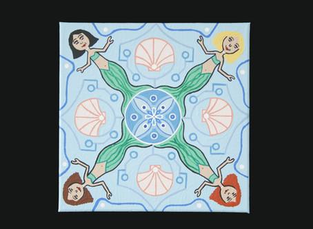 Throwback Thursday - A Mermaid Mandala