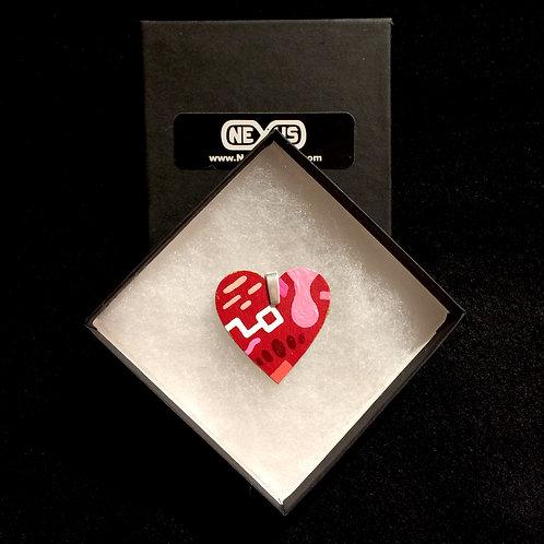 "Pendant #187 - 1.75"" Heart"