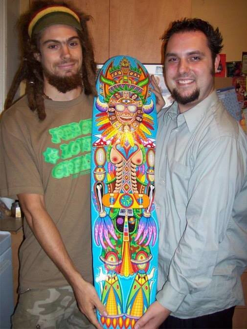 Artists Adam Millward and Chris Dyer