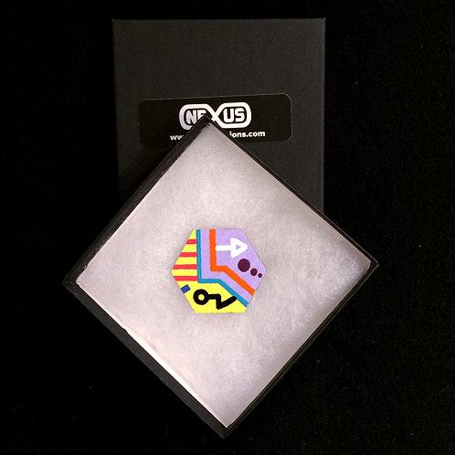 "Magnet #2 - 1.75"" Hexagonal (Horizontal)"