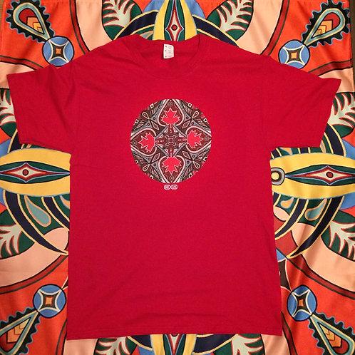 """""""CANADA MANDALA"""" T-Shirt"""