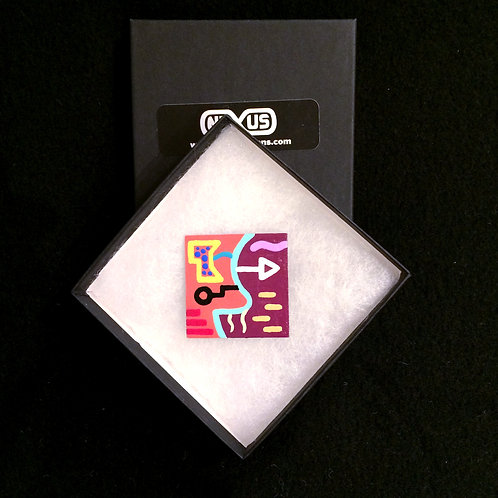 """Magnet #4 - 1.75"""" Square"""