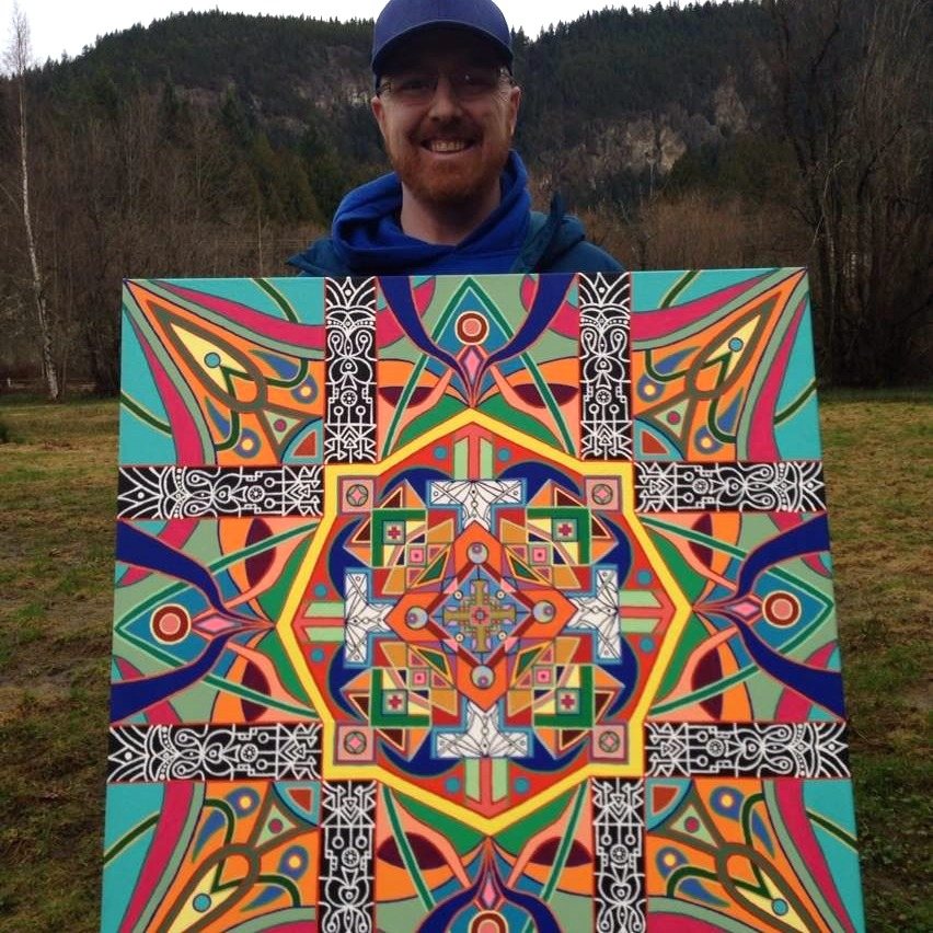 Happy Mandala Art Patron Bill