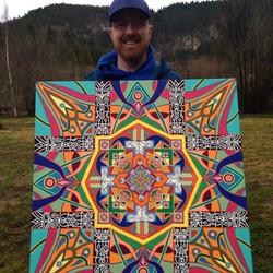 Happy Mandala Art Patron Bill