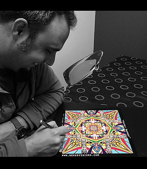 Mandala Artist Adam Millward
