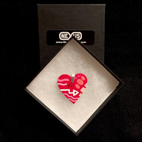 "Pendant #190 - 1.75"" Heart"