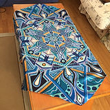 Mandala Art Table Cloth by Artist Adam Millward