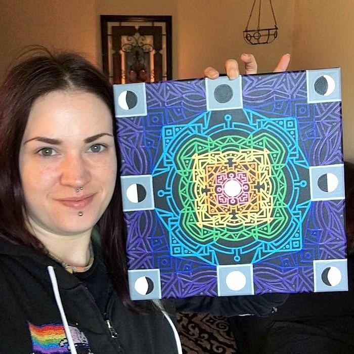 Adam Millward Mandala Artist Art
