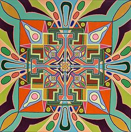 Adam Millward Mandala Paintings For Sale  Spiritua Art