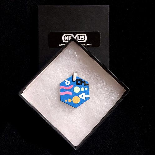 "Pendant 46 - 1.75"" Hexagonal (Vertical)"