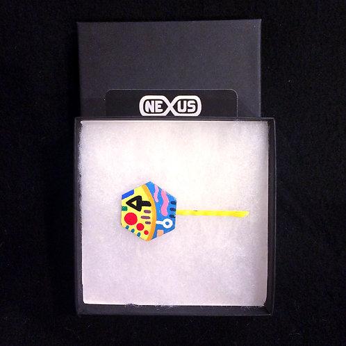 "Hair Pin #5 - 1.25"" Hexagonal"