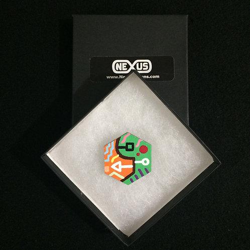"Brooch Pin #20 - 1.75"" Hexagonal"