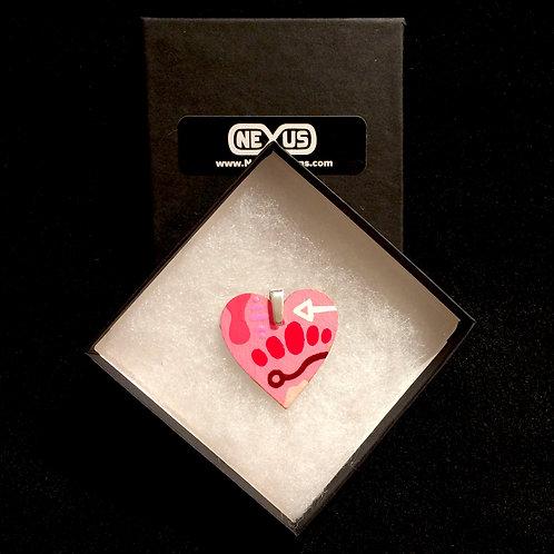 "Pendant #181 - 1.75"" Heart"