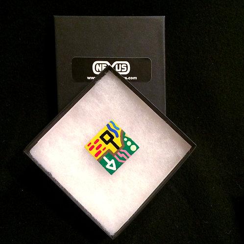 """Pin #2 - 1.25"""" Diamond"""