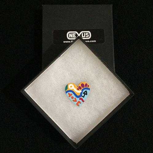 "Pin #13 - 1.25"" Heart"