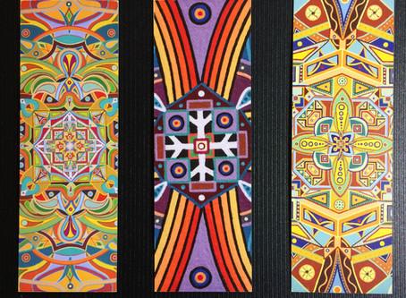 New - Mandala Art Bookmarks!