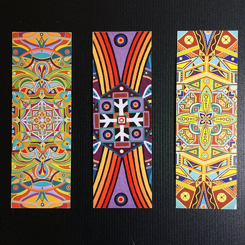 MANDALA ART BOOKMARKS