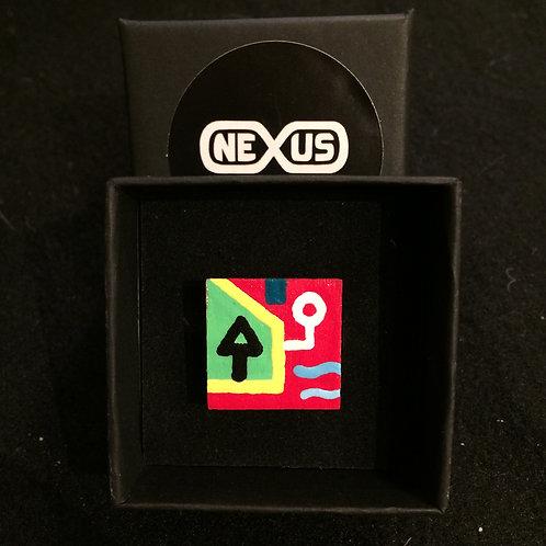"Ring #13 - .75"" Square"