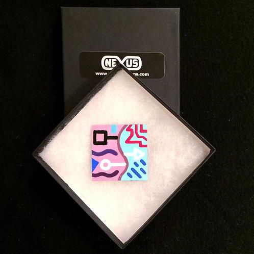 """Magnet #5 - 1.75"""" Square"""