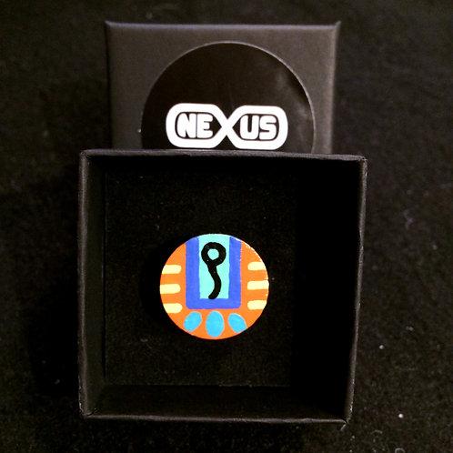"""Ring #10 - .75"""" Round"""