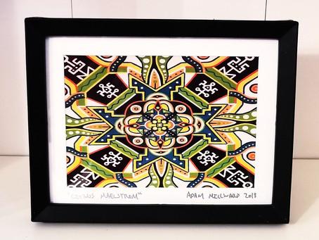 "🔱NEW🔱- ""Citrus Maelstrom"" Mandala Prints"