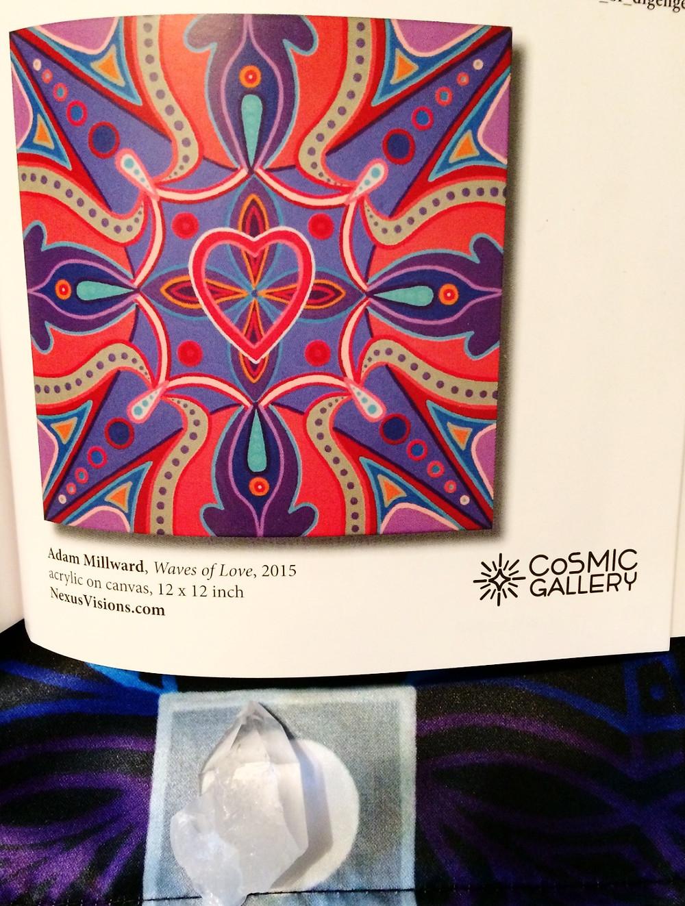 Waves of Love Mandala Painting by Adam Millward