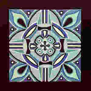 """""""Blue Moon"""" Mandala Art by Adam Millward"""