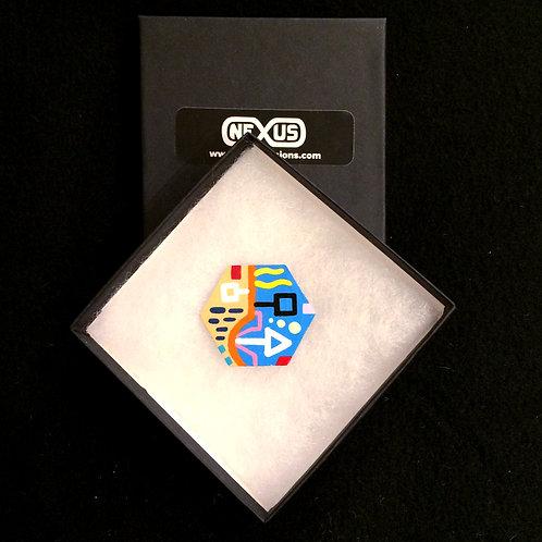 "Magnet #17 - 1.75"" Hexagonal (Horizontal)"