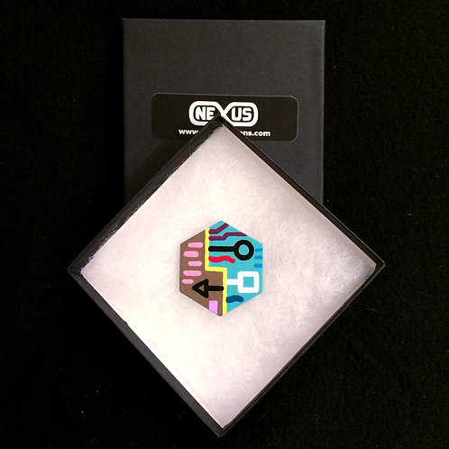 """Magnet #11 - 1.75"""" Hexagonal (Vertical)"""