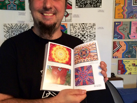 """My Mandala Art Is Featured In CoSM's  """"Journal of Visionary Culture""""!"""