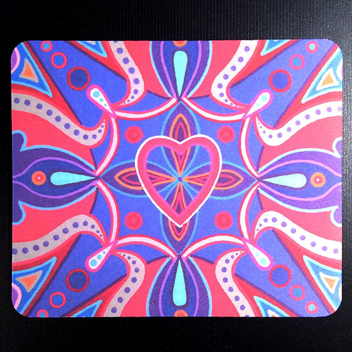 """Waves of Love"" Mouse Pad"