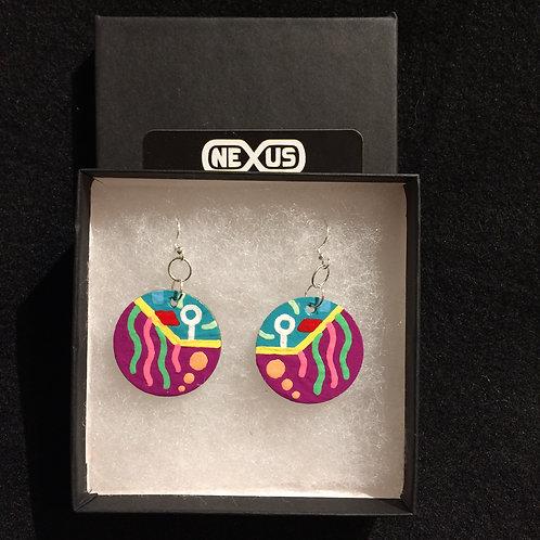 """Earrings #6 - 1.25"""" Round"""