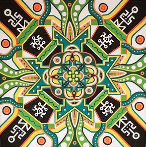 Adam Millward Custom Mandala Art For Sale Spiritual Art Mandala Paintings
