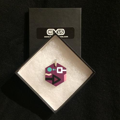 "Pendant 147 - 1.75"" Hexagonal (Vertical)"