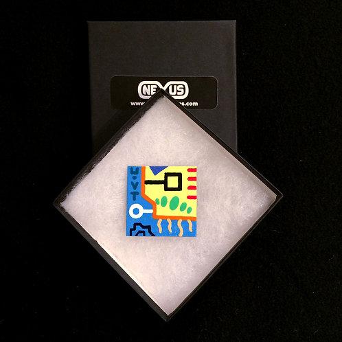 """Magnet #7 - 1.75"""" Square"""