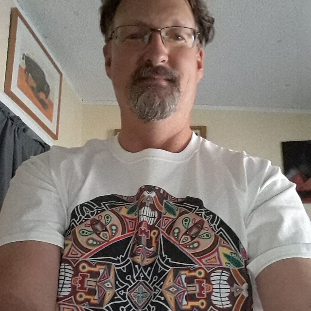 Happy Client Bryan In his Tiki T