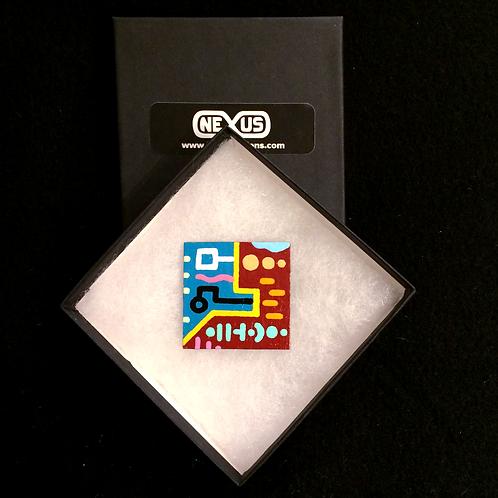 """Magnet #16 - 1.75"""" Square"""