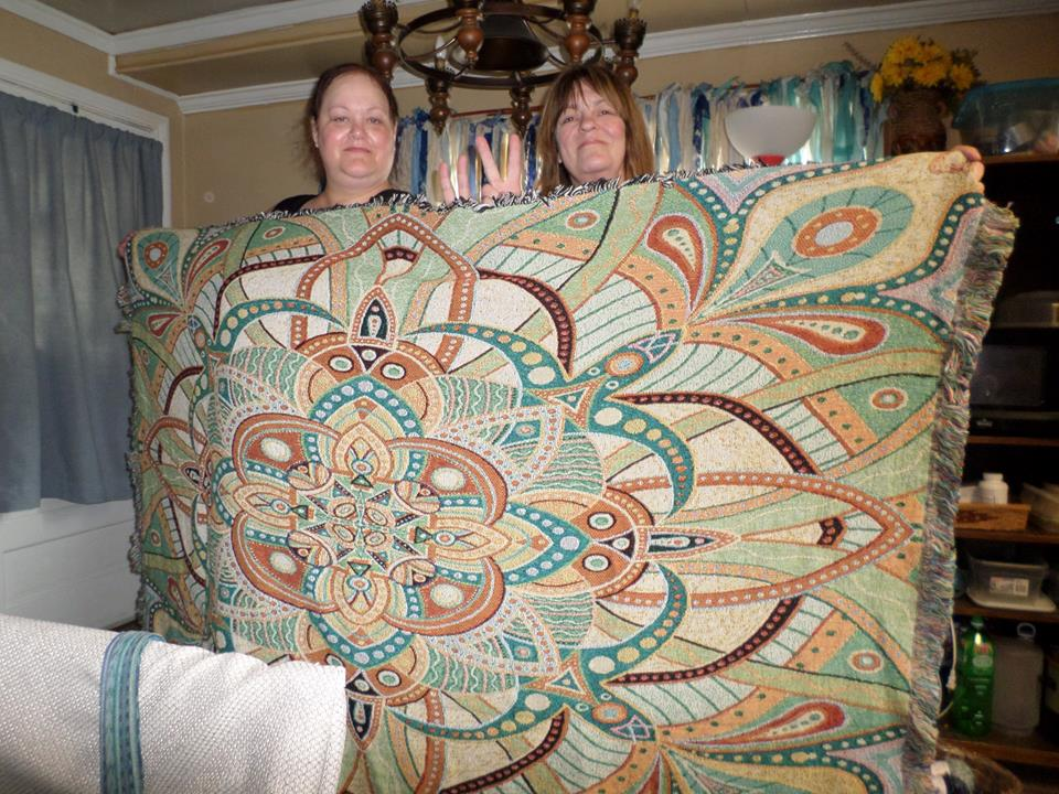 Happy Mandala Blanket patron