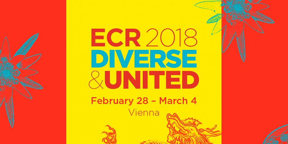 Vor Ort auf dem ECR 2018 - Kongressstipendien