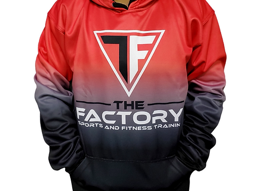 The Factory Red Hoodie