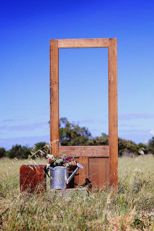 Door photo booth