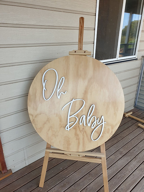 'Oh Baby' sign